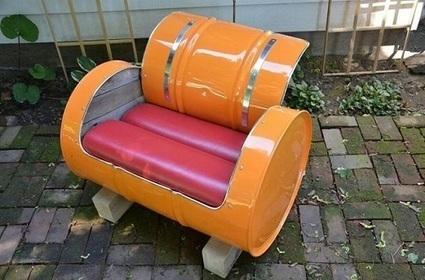 12 réutilisations originales de vieux bidons industriels métalliques | Recyclage et récupération | Scoop.it