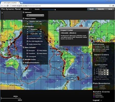 """This Dynamic Planet: Illustrating """"Why GIS?"""" 