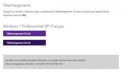 Télécharger l'ISO de Windows 7, 8.1 et 10 gratuitement - Le Crabe Info | Au fil du Web | Scoop.it