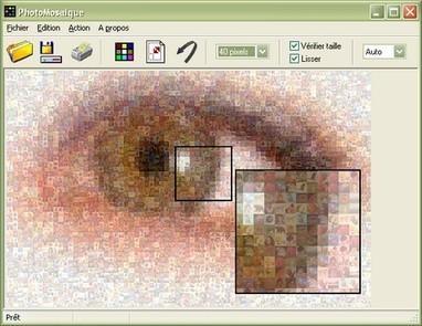 Création d'image en mosaïques, PhotoMosaique | Outils en ligne pour bibliothécaires | Scoop.it