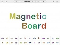 """Learn and have fun with your children using iPad App """"Magnetic Touch Board""""   Get Apps, Get Inspired ...   iPad in the Classroom   Scoop.it"""