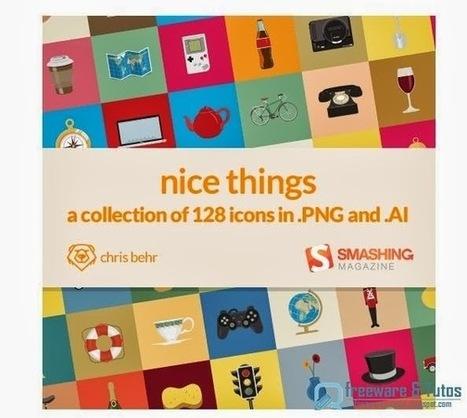 Nice Things : un joli pack d'icônes pour vos projets web   Freewares   Scoop.it