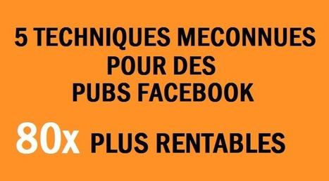 5 techniques méconnues pour rendre vos pubs Facebook 80 fois plus rentables | Le Marketing Internet aux Antilles-Guyane | Scoop.it