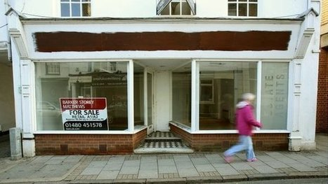 Empty shops 'show North-South divide' | F582 The National and International Economy | Scoop.it