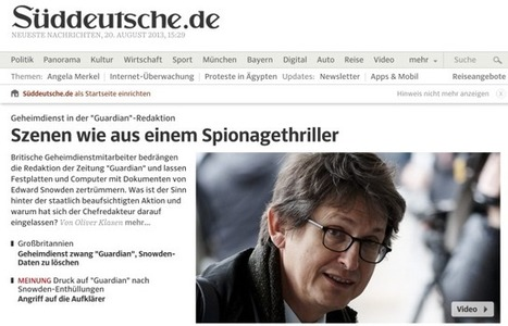 The NSA, Germany and journalism | The Journalist | Scoop.it