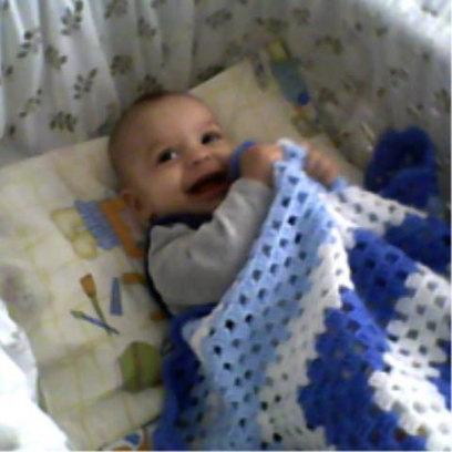 Granny Square Handmade Crochet Baby Blanket, Baby Shower Gift, Newborn Blanket | Crochet Miracles Shop on Etsy | Scoop.it