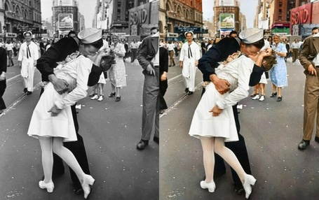 Wow! History's most iconic photos in colour | Grand Pictures | Scoop.it