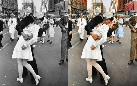 Wow! History's most iconic photos in colour | Instructional Technology:  Social Studies | Scoop.it