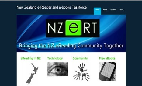 New Zealand eReader and eBook Taskforce - home | Reading for Young Adults | Scoop.it