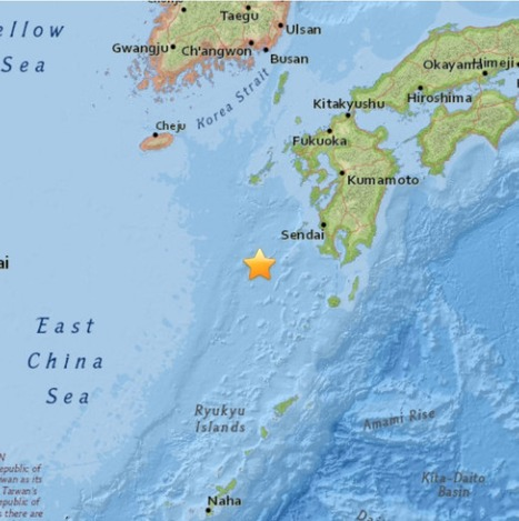 M6.7 - 144km WSW of Makurazaki, Japan | Japan Tsunami | Scoop.it