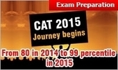 CAT 2015 Journey to join Club 99: From 80 in 2014 to 99 percentile in 2015; know how to achieve | MBA Universe | Scoop.it