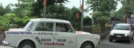 Inde : un chauffeur de taxi conduit en marche arrière depuis 11 ans | Actu & Voyage en Inde | Scoop.it