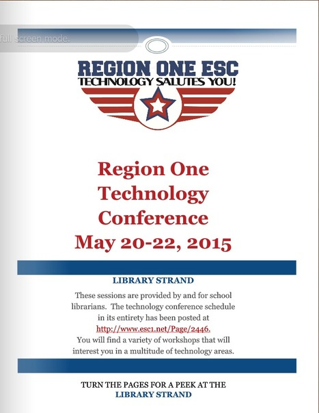 2015 Region One ESC Technology Conference Library Strand | Information Powerhouses | Scoop.it