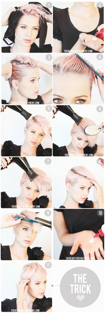 The Beauty Department: Your Daily Dose of Pretty. - SUPER SHORT STYLING | hairstyles | Scoop.it