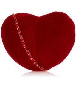 Velvet Heart Purse   Online Store   Scoop.it