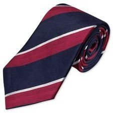 Woven Red Linen Stripe Tie   Women Fashion Clothing   Set That   Scoop.it