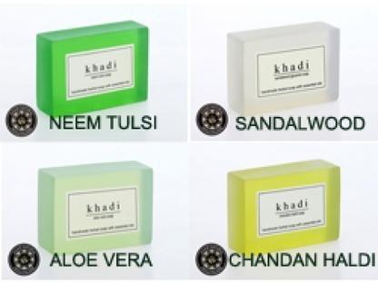 Buy Khadi Handmade Soap(Pack of 4) Online | Khadi Products | Scoop.it