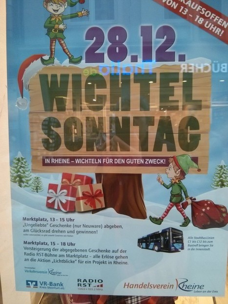 Wichtelsonntag - what a great idea! - Angelika's German Tuition & Translation | courtesy | Scoop.it
