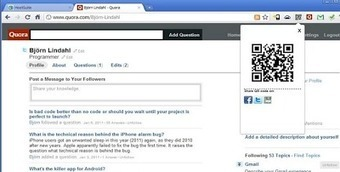 Two Effective QR Code Generators for your Chrome | Applied linguistics and knowledge engineering | Scoop.it