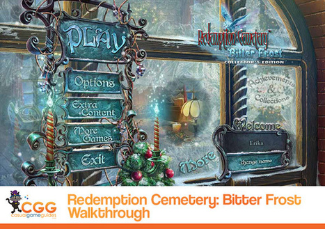 Redemption Cemetery: Bitter Frost Walkthrough: From CasualGameGuides.com   Casual Game Walkthroughs   Scoop.it