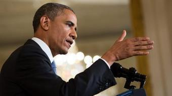 Obama blames Putin 'Cold War' rhetoric for strained US-Russia ties - Los Angeles Times   HSC World Order   Scoop.it