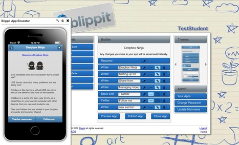 Blippit | apple technology in the Classroom | Scoop.it