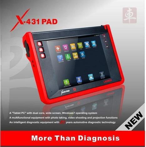 Original Launch X431 PAD update online Support WIFI - US$1,080.00   obd2 tools   Scoop.it