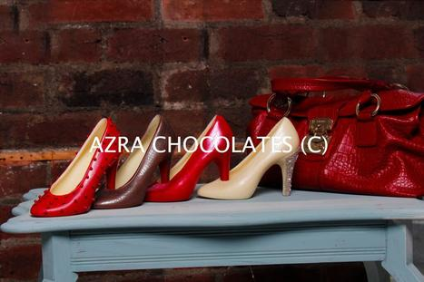 Chocolate Shoes- Everything a woman would love-Diamonds,Chocolates,Shoes,Pearls- combined into a piece of edible art! | Tanya Henderson | Scoop.it