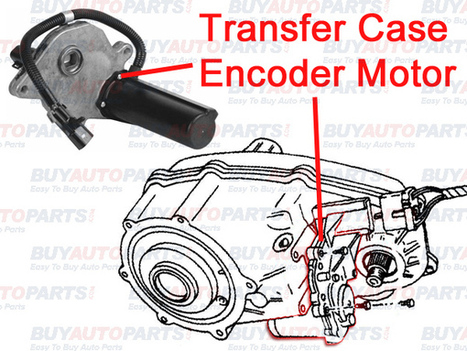 How to install a transfer case encoder motor | Lexus ES350 Parts | Scoop.it