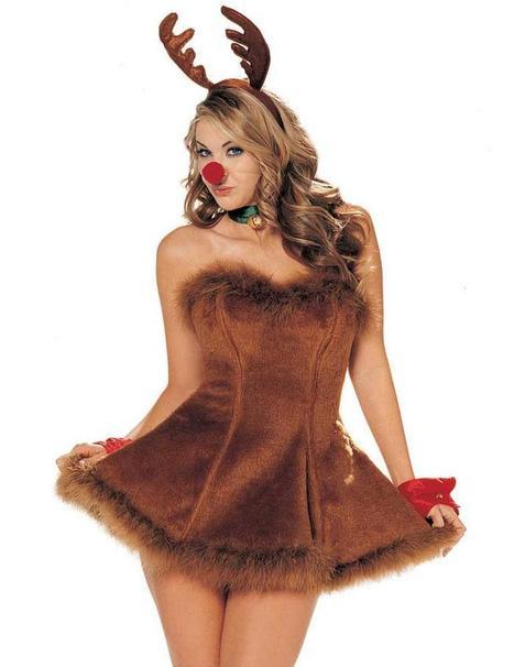 Sexy Rudolf The Sexiest Reindeer –SexyLingeriesDeal.com | Queen Size Costumes | Scoop.it