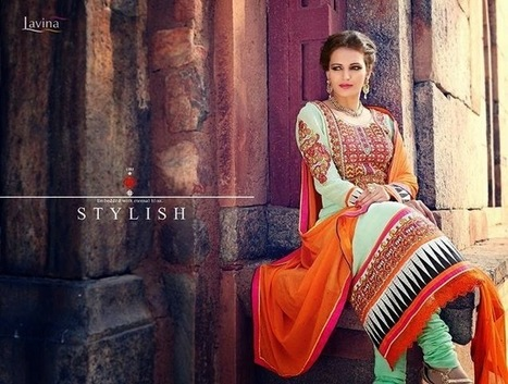 Lavina Semi Stich Fashion Clothes Collection 2015 For Female | Your Choice For Dress | Your choice for dress | Scoop.it