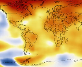 This 1-Minute Video of the Earth's Rising Temperatures Will Keep You Up at Night | Everything from Social Media to F1 to Photography to Anything Interesting. | Scoop.it
