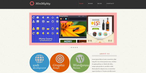 40+ Fresh And Free Web Templates | Template & Webdesign | Scoop.it
