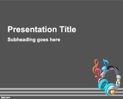 Music Background For Powerpoint | Free Powerpoint Templates | Educación para el siglo XXI | Scoop.it