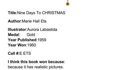 Caldecott Book - Bailey B | Caldecott Medal Winning Books (Created by 3rd graders) | Scoop.it