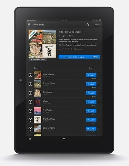 Amazon Prime Subscriber? You Just Got Free Streaming Music - Yahoo Tech | Decline in digital sales due to online streaming forces the music industry to seek out new marketing schemes. | Scoop.it