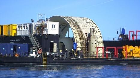 France Bleu | Manche : GDF Suez-Alstom et EDF-DCNS choisis pour tester l'hydrolien dans le Raz Blanchard | EMR | Scoop.it