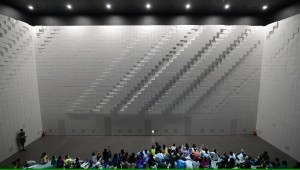 Giant Analog Display Made of Thousands of Foam Blocks | Interactive Exhibits | Scoop.it