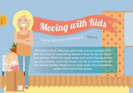 The Mums Guide to Moving with Kids [INFOGRAPHIC] | Infographics by Infographic Plaza | Scoop.it