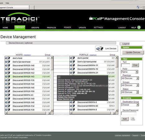 Managez vos zéro clients PCoIP avec la Teradici Management Console   LdS Innovation   Scoop.it