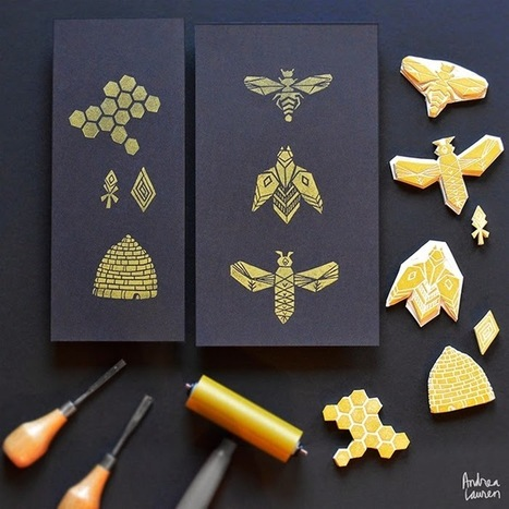 Andrea Lauren: Block $Printing #Stamps by Andrea #Lauren | Design Ideas | Scoop.it