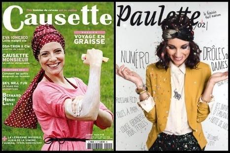 """""""Causette"""", """"Paulette"""" : la presse féminine se réinvente - Les Inrocks   EcritureS - WritingZ   Scoop.it"""