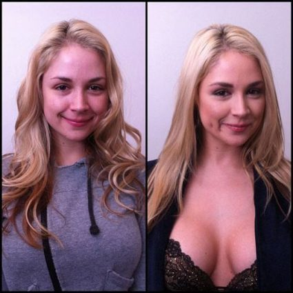 Porn stars with and without makeup makes a slight difference (69 Photos) | Anything and nothing, especially nothing ... | Scoop.it