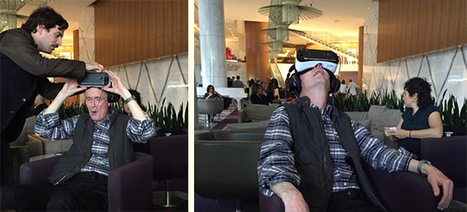 William Gibson After Trying VR (Samsung) For The First Time: 'They Did It!' PET | Pervasive Entertainment Times | Scoop.it