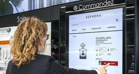 Sephora passe au commerce connecté de proximité - Les Échos | Customer Marketing in Retail | Scoop.it