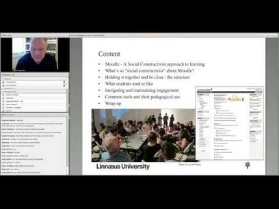 "Vidéo : ""Pedagogical Use of Moodle"" 