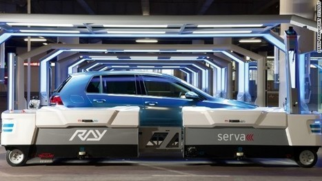 This robot valet will park your car | Daily Updated Web Development & Designing News With Updated Technologies | Scoop.it