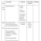 Dagplanning voor kleuters (12) | Zwartboek Kleuters in de knel ! | Scoop.it