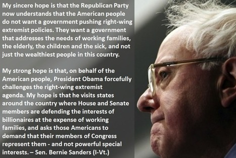 Bernie Sanders | My Liberal Politics | Scoop.it