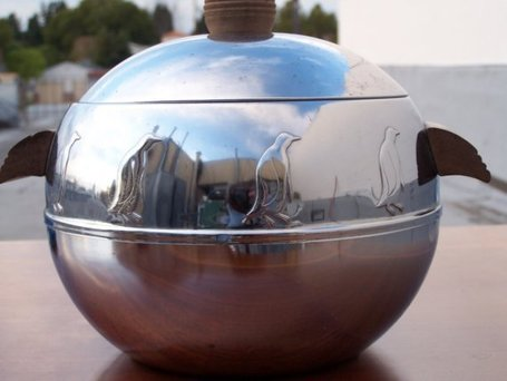1950'sWestbendPenguinHot&ColdServerOrIceBucketStainlessSteel | Antiques & Vintage Collectibles | Scoop.it